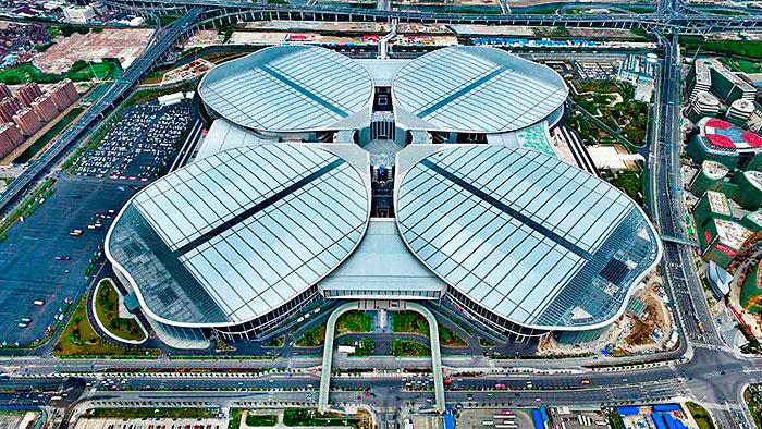 Национальный выставочный и конгресс центра города Шанхай